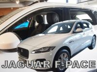 Window deflector Jaguar F-pace 4D 2018r =>, front+rear