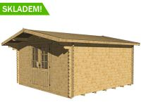 Wooden cottage cottage Palma, 14.4m2