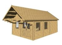 Wooden cottage cottage Scoot, 23.6m2