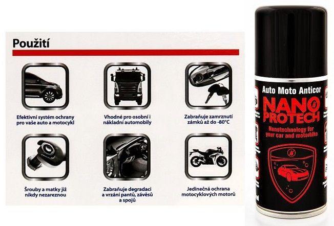 NANOPROTECH Auto Moto ANTICOR 150 ml REDelectronics protection