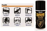 NANOPROTECH BICYCLE 150 ml Orange
