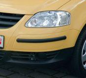 Car bumper strip 2pc, 38 x15 mm