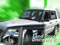 SIDE WINDOW AIR DEFLECTORS for car Land Rover Discovery II, 5D. 1999-2004, front door HDT