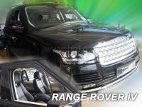 SIDE WINDOW AIR DEFLECTORS for car Land Rover Discovery IV 5D 2009 =>, front door HDT