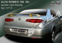 Rear spoiler wing for Alfa Romeo, 166 1998 =>