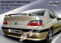 Rear spoiler wing for PEUGEOT 406 1995-2004R