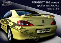 Rear spoiler wing for PEUGEOT 406 coupe
