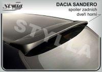Rear spoiler wing for DACIA Sandero 2008r =>