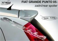 Rear spoiler wing for FIAT Grande Punto 2005r =>