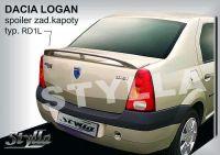 Rear spoiler wing for DACIA Logan 2004r =>
