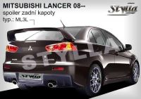 Rear spoiler wing for MITSUBISHI Lancer sedan 2008r =>