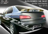 Rear spoiler wing for Alfa Romeo 146, 1994-2001r