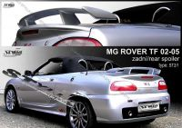 Rear spoiler wing for ROVER MG TF 2002-2005r