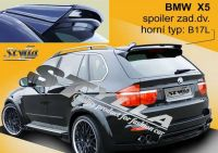 Rear spoiler wing for BMW X5/E70 2007r =>