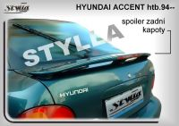 Rear spoiler wing for HYUNDAI Accent htb 1994-1998r