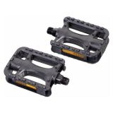 9/16 plastic pedals with reflectors 2pc