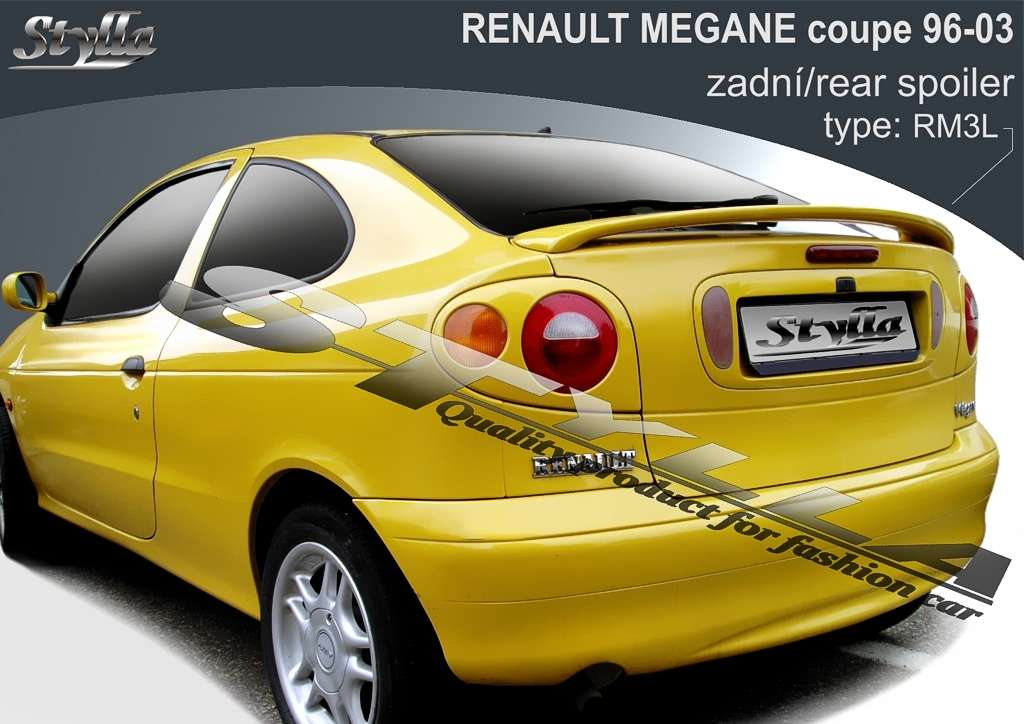Car Spoilers for RENAULT Megane coupe 96-2003r Stylla
