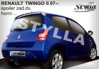 Rear spoiler wing for RENAULT Twingo 2007r =>