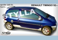 Rear spoiler wing for RENAULT Twingo 1993r =>
