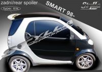 Rear spoiler wing for SMART City-coupe 1998r =>