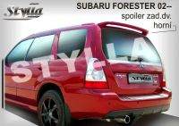 Rear spoiler wing for SUBARU Forester 02-2008r