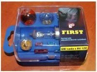 Car bulb set box UNI 12V H4