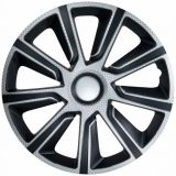 "WHEEL COVERS 14"" Veron carbon black, 1pc"