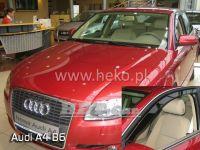 SIDE WINDOW AIR DEFLECTORS for carAudi A4 B6 4D 2002 => front door HDT