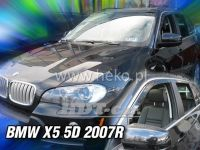 Window deflector BMW X5 5D 2007 =>, front + rear door