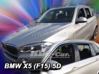 Window deflector  BMW X5 F15 5D 2011=> front + rear door