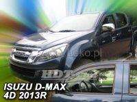Window deflector Isuzu D-Max 2/4D 2 gen 2012r =>, 2pc front door