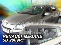 Window deflector RENAULT Megane III Grandtour 5D, 2009 =>, front + rear door