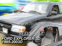 Window deflector Ford Explorer 3D 95--03R front  door