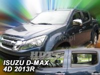 Window deflector Isuzu D-Max 2/4D 2 gen 2012 =>, front + rear door