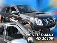 Window deflector Isuzu D-Max 4D 2010r, front door