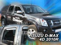 Window deflector Isuzu D-Max 4D 2010r, front + rear door