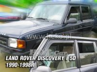 SIDE WINDOW AIR DEFLECTORS for car Land Rover Discovery I 3/5D. 1990-1998, front + rear door