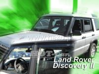SIDE WINDOW AIR DEFLECTORS for car Land Rover Discovery II, 5D. 1999-2004, front + rear door