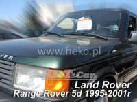 SIDE WINDOW AIR DEFLECTORS for car Land Rover Range Rover II  5D, 1994-2002, front door
