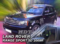 SIDE WINDOW AIR DEFLECTORS for car Land Rover Range Rover Sport 5D, 2005 =>, front door