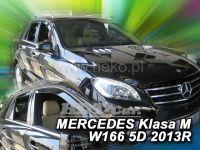 Window deflector Mercedes GL X166 5D 2013r =>, front + rear door