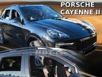 Window deflector  Porsche Cayenne 5D 10R =>, front + rear door