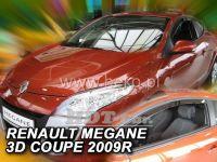 Window deflector RENAULT Megane Coupe 3D, 2009 =>, front door