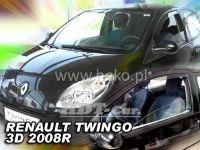 Window deflector RENAULT Twingo 3D, 2008 =>, front door