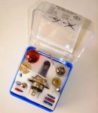 Car bulb set box UNI 24V H4 + H1