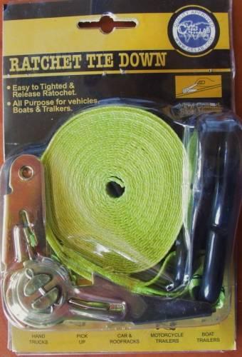 Ratchet Tie Down 4,5 m, 600 kg Vyrobeno v EU