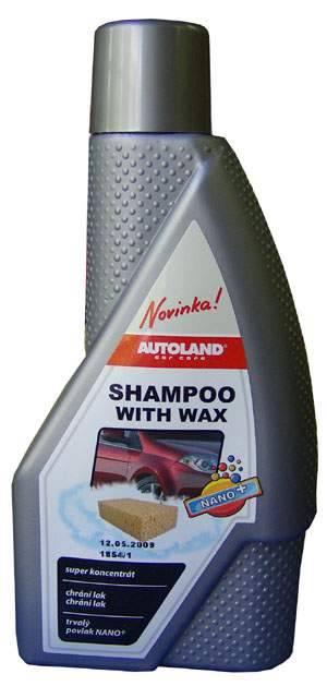 Car Shampoo With Wax, 600ml Autoland