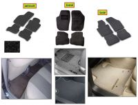 Car mats Opel Vivaro 2002r dvoj. kab. third row only LWB